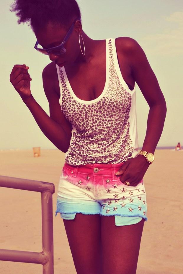 cc9d4ce913dc Fabulous Friday DIY  Dip Dye Star-Studded Shorts