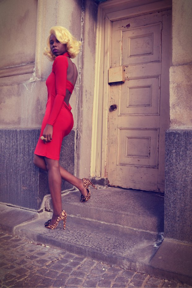 Daniela Tabois Asymmetrical Dress 1