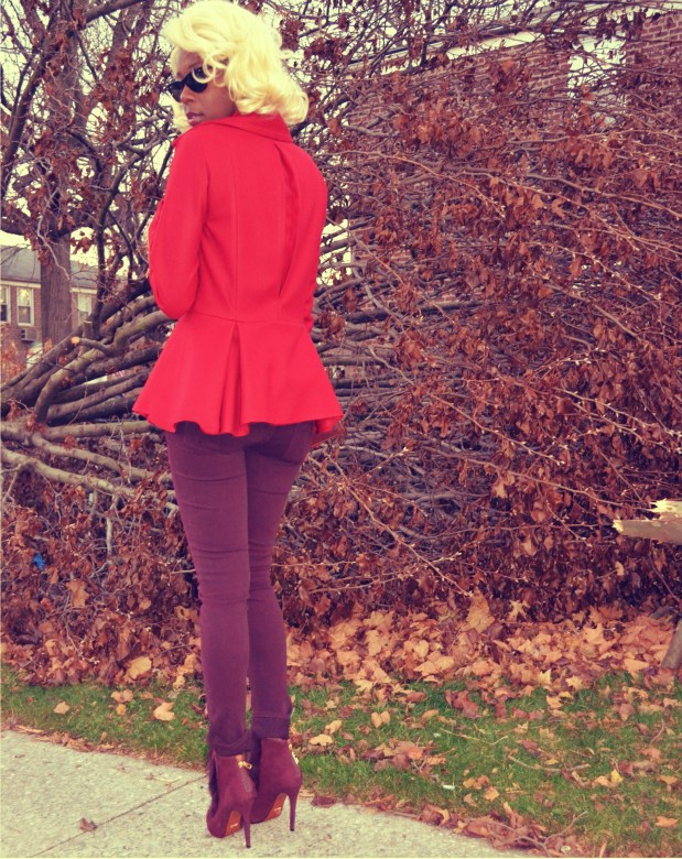 Daniela Tabois Peplum Jacket 5