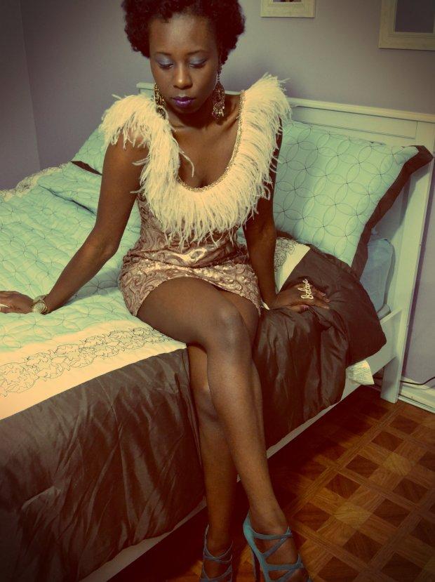 daniela Tabois feather Dress3