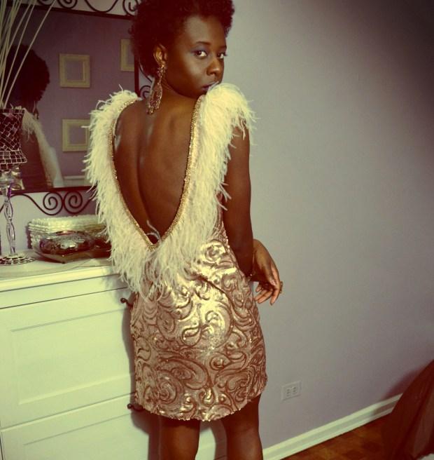 daniela tabois feather dress5