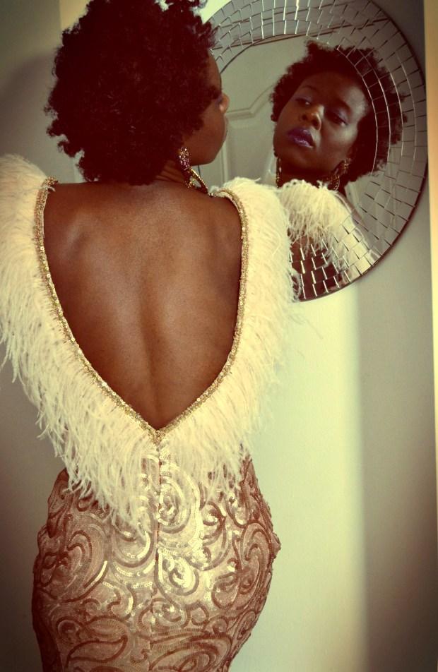 daniela tabois feather dress6