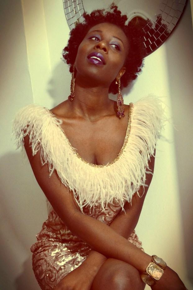 daniela tabois feather dress7