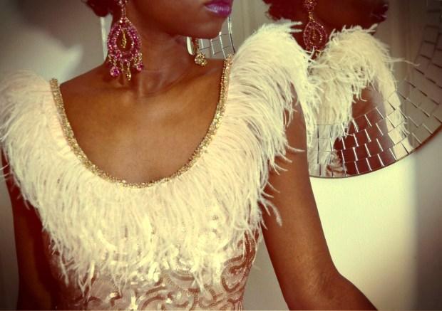 daniela tabois feather dress8