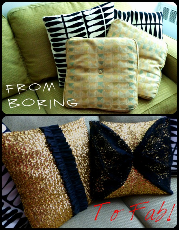 Daniela Tabois Holiday Pillow Diy
