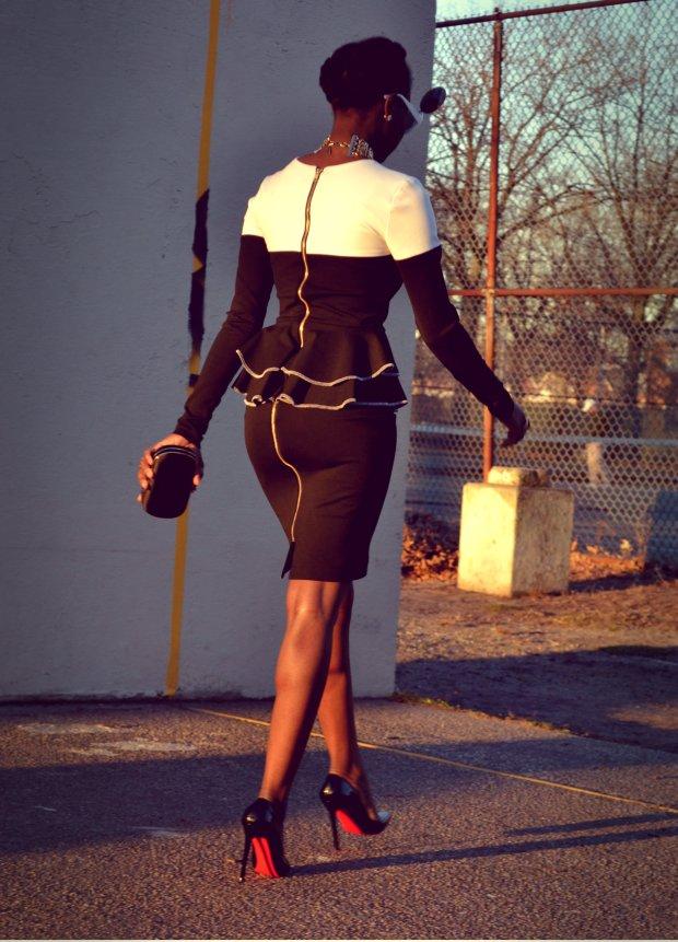 Daniela Tabois Color Block Dress10