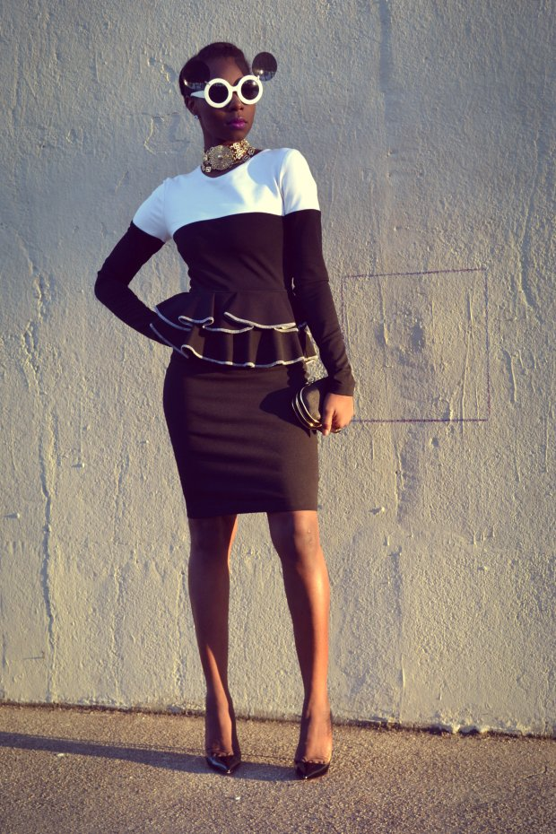 Daniela Tabois Color Block Dress3