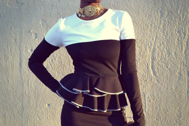 Daniela Tabois Color Block Dress4