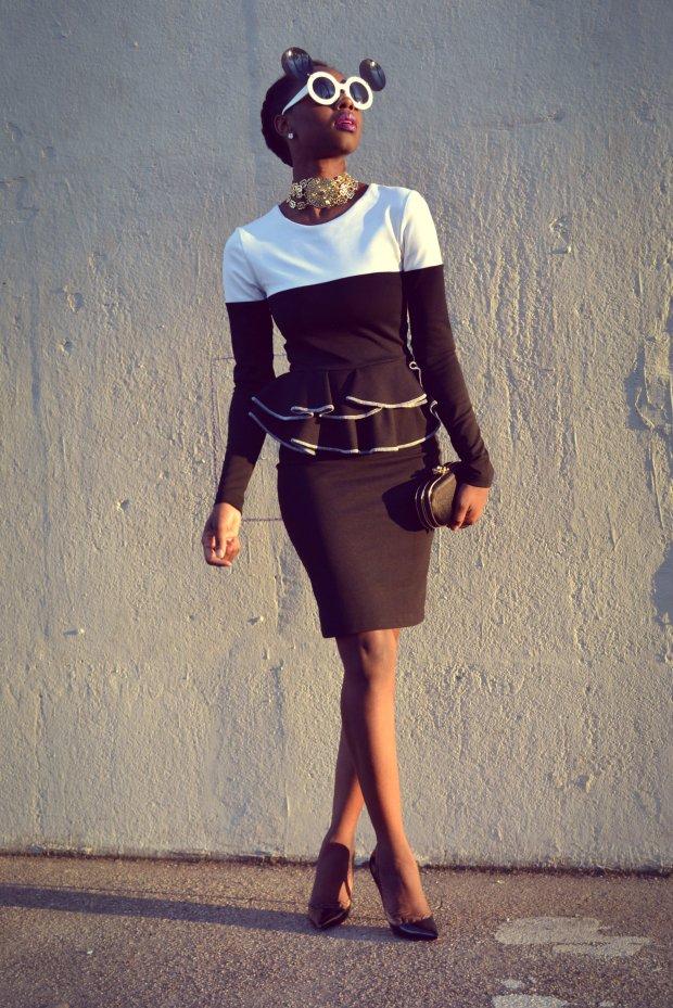 Daniela Tabois Color Block Dress5
