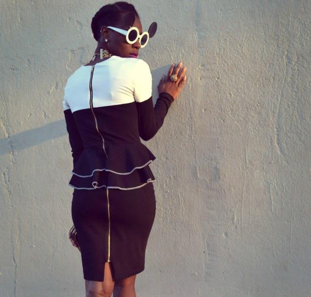 Daniela Tabois Color Block Dress6
