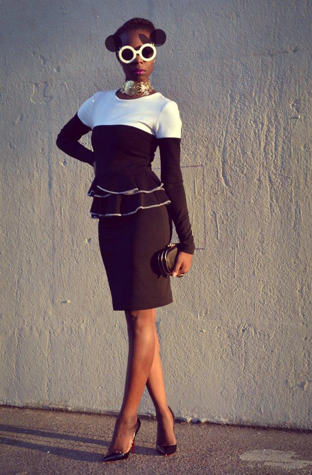 Daniela Tabois Color Block Dress7