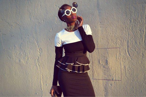 Daniela Tabois Color Block Dress8