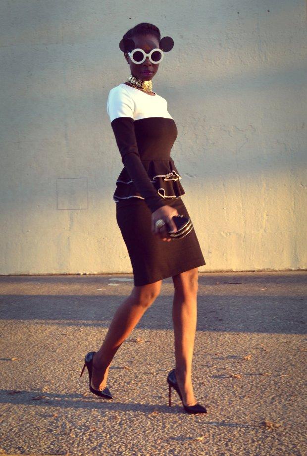 Daniela Tabois Color Block Dress9