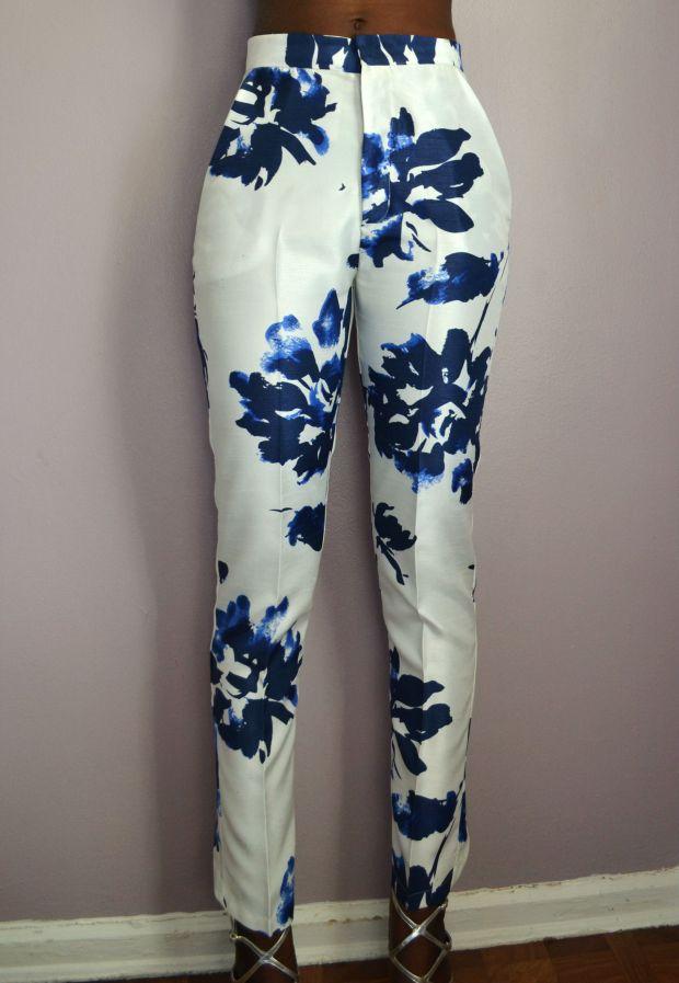 Daniela Tabois High Waist Print Pants1