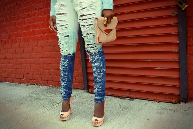 Daniela Tabois bleached Dip bleach Jean 3
