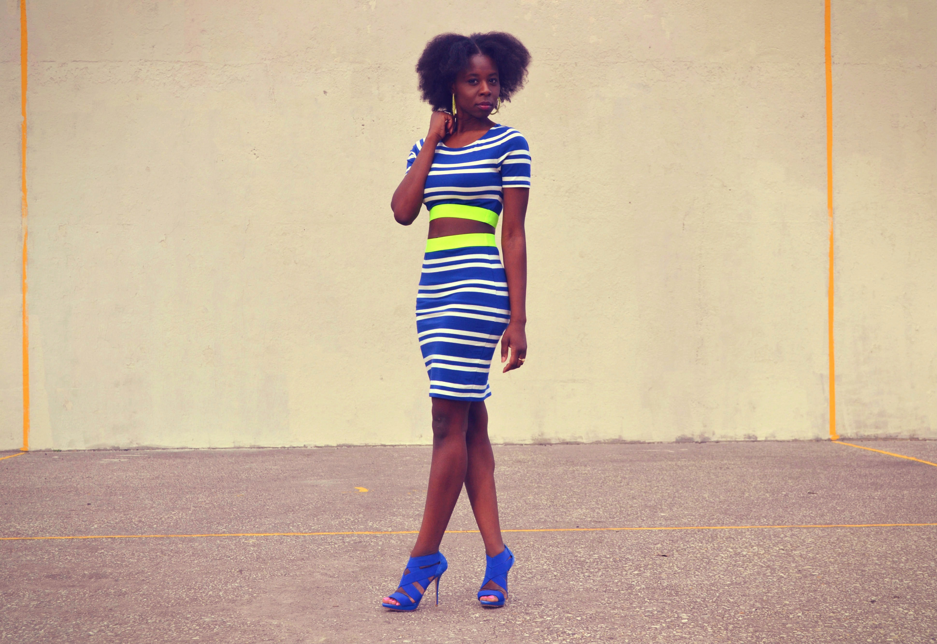 Crop Top Skirt Set