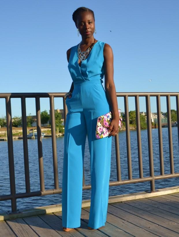 Daniela Tabois Blue crossback jumpsuit1