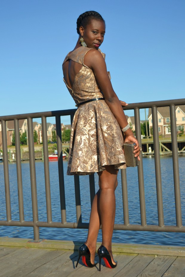 daniela Tabois Flare borade flare dress2