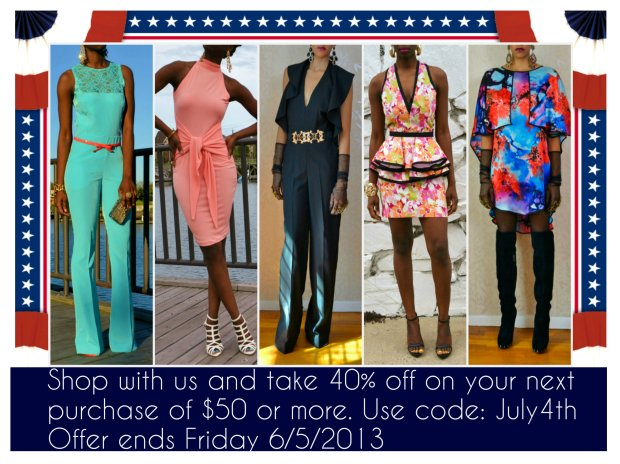 Daniela Tabois July 4th Sale flyer