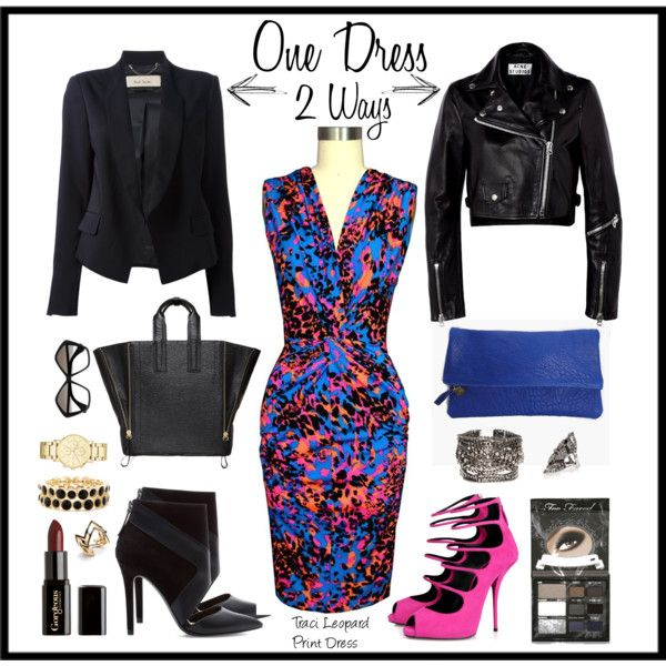 Daniela Tabois Leopard Print Dress inspiration