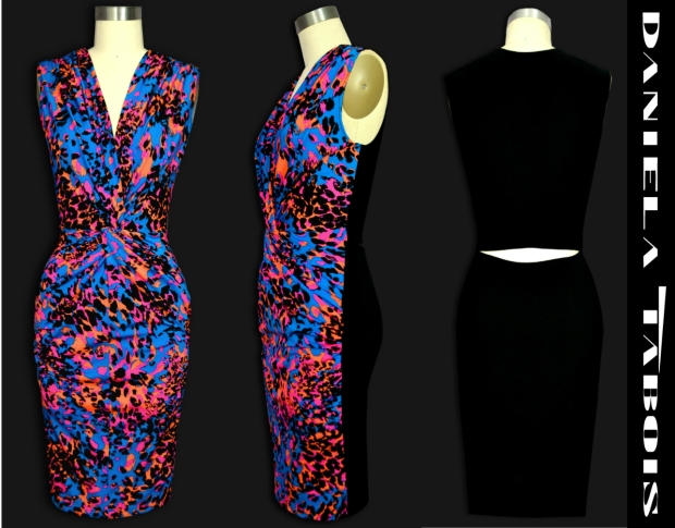 Daniela Tabois Traci Lepoard Print dress 2