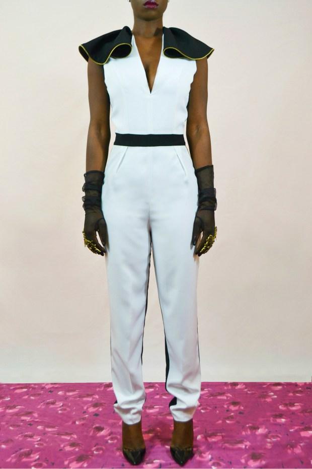 Daniela Tabois Black and white jumpsuit