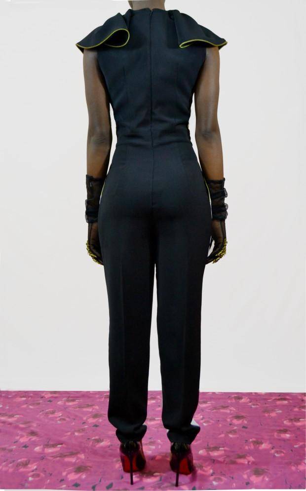 Daniela Tabois Black and white jumpsuit2