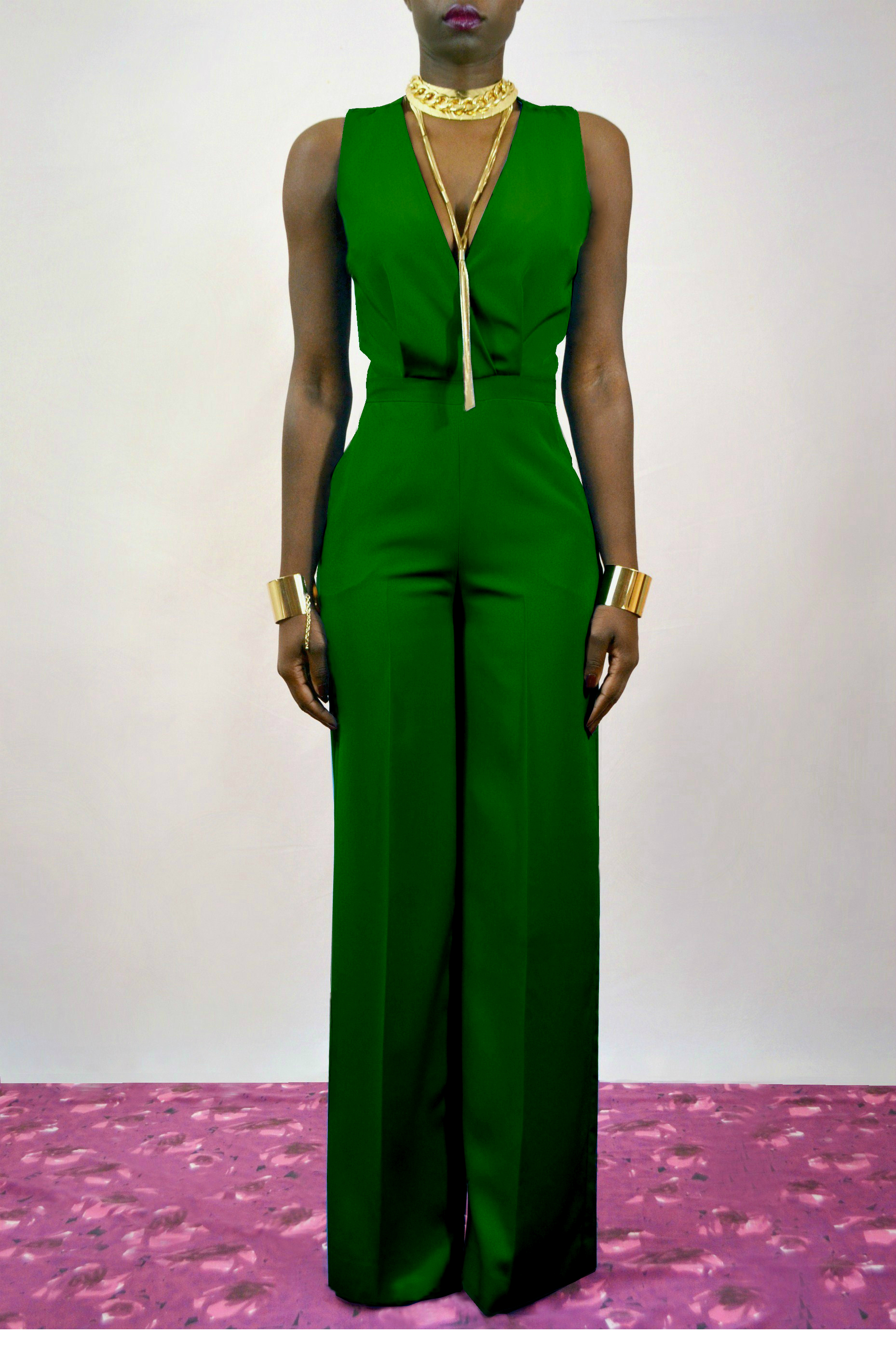 Watch more like Emerald Green Jumpsuit For Women