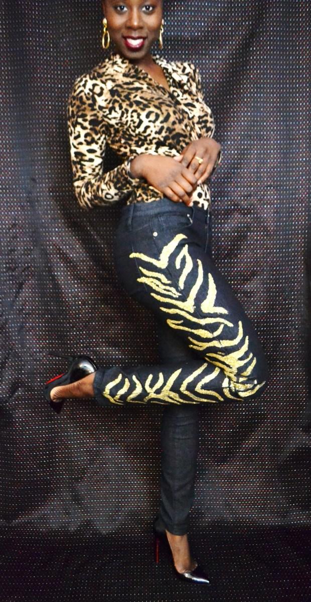 Daniela Tabois DIY Glitter Jeans3