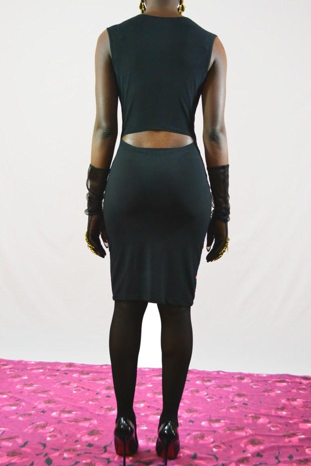 Daniela Tabois Leopard Print Dress2