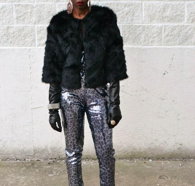 Daniela Tabois Leopard Print Sequin Jumpsuit2