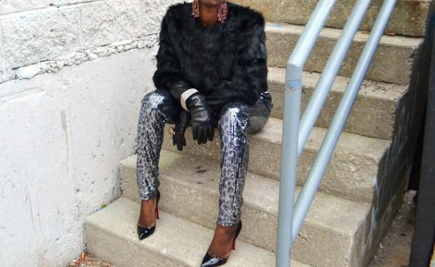 Daniela Tabois Leopard Print Sequin Jumpsuit5