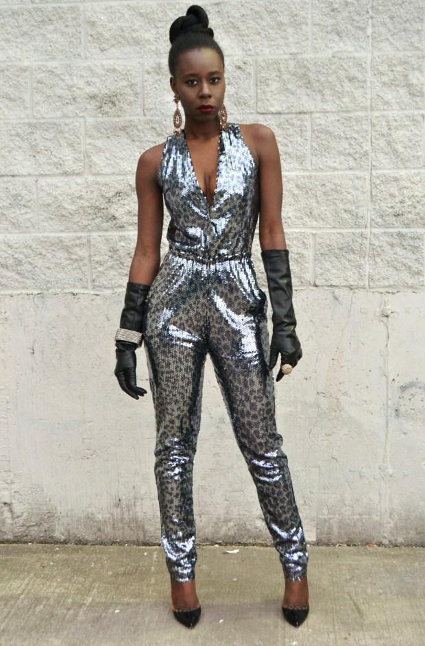 Daniela Tabois Leopard Print Sequin Jumpsuit7