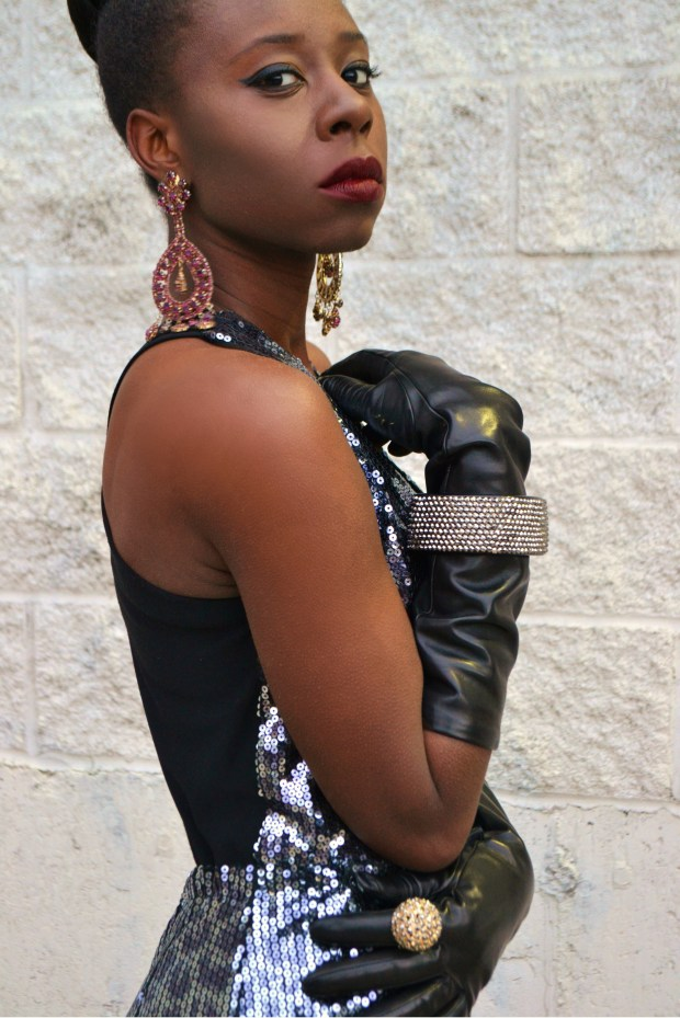 Daniela Tabois Leopard Print Sequin Jumpsuit9