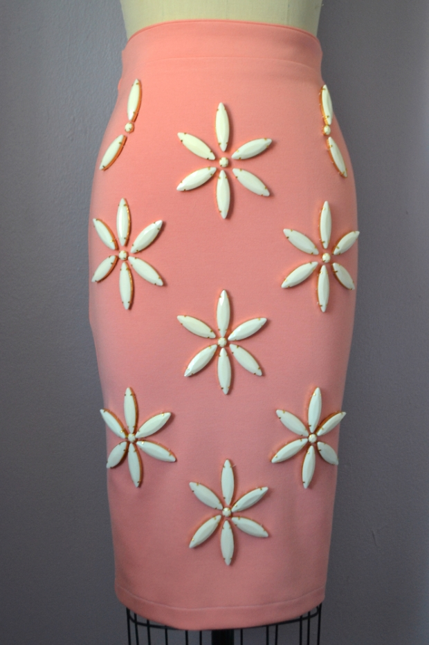Daniela Tabois Daisy Embellish Skirt Front