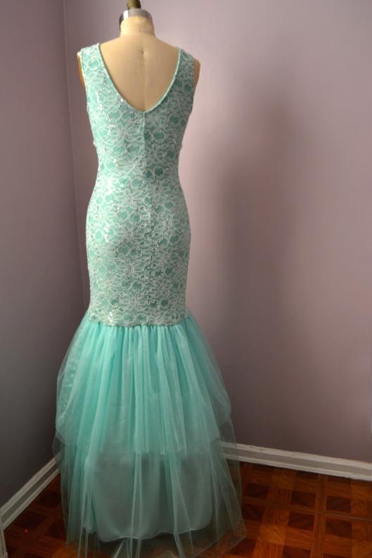 Daniela Tabois DIY Embellish Tulle Gown back