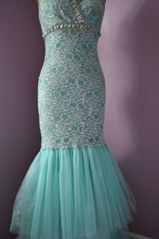 Daniela Tabois DIY Embellish Tulle Gown detail 3