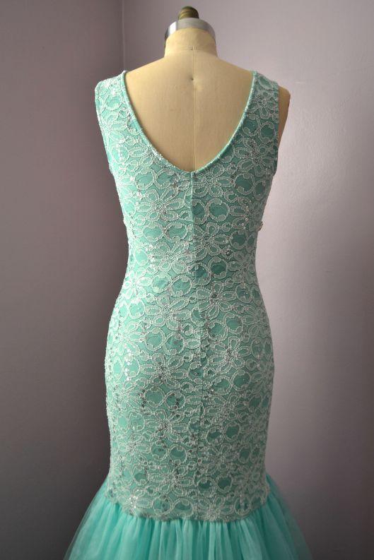 Daniela Tabois DIY Embellish Tulle Gown detail