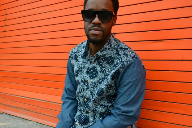 DIY Men's Mix Print Denim Shirt 3