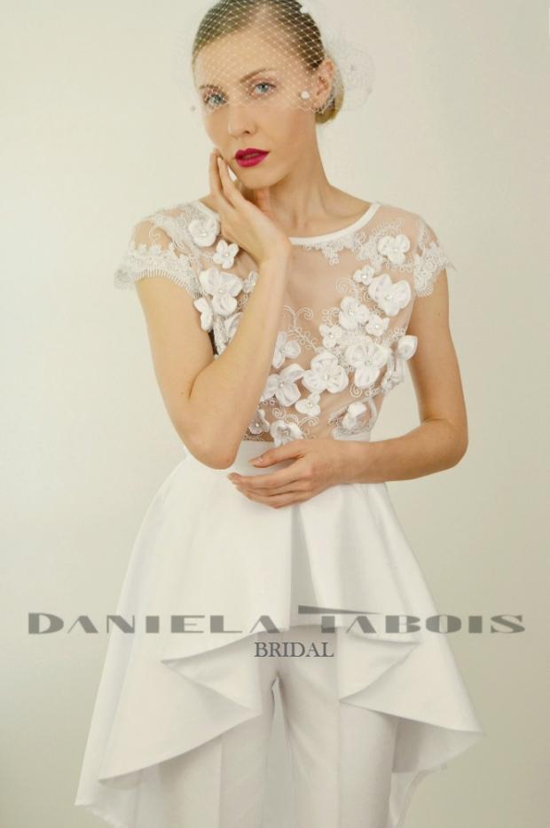 Daniela Tabois Giselle 2pc Wedding Jumpsuit 9